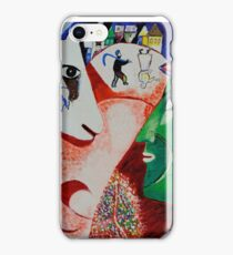 I and the Village- Tribute to Chagall iPhone Case/Skin