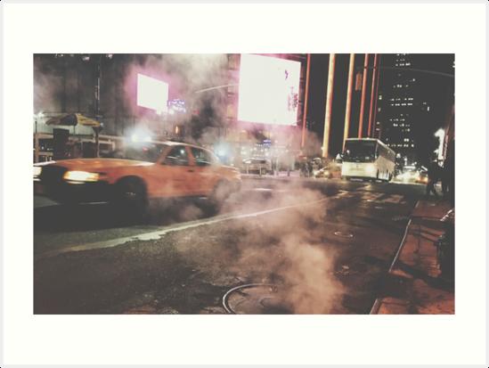 Taxi Taxi, 2016 by Marc Zahakos