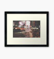 Taxi Taxi, 2016 Framed Print