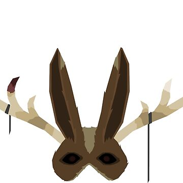 Jackalope Mask by feztivus