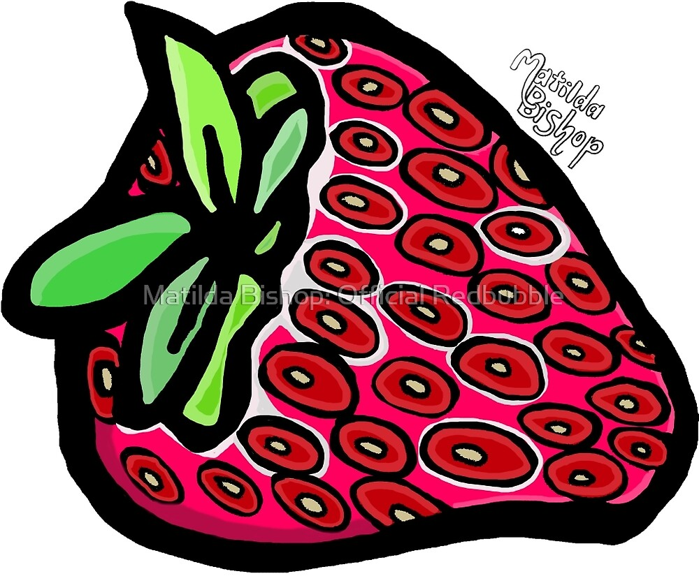 Strawberry by Matilda Bishop Art: Official Redbubble