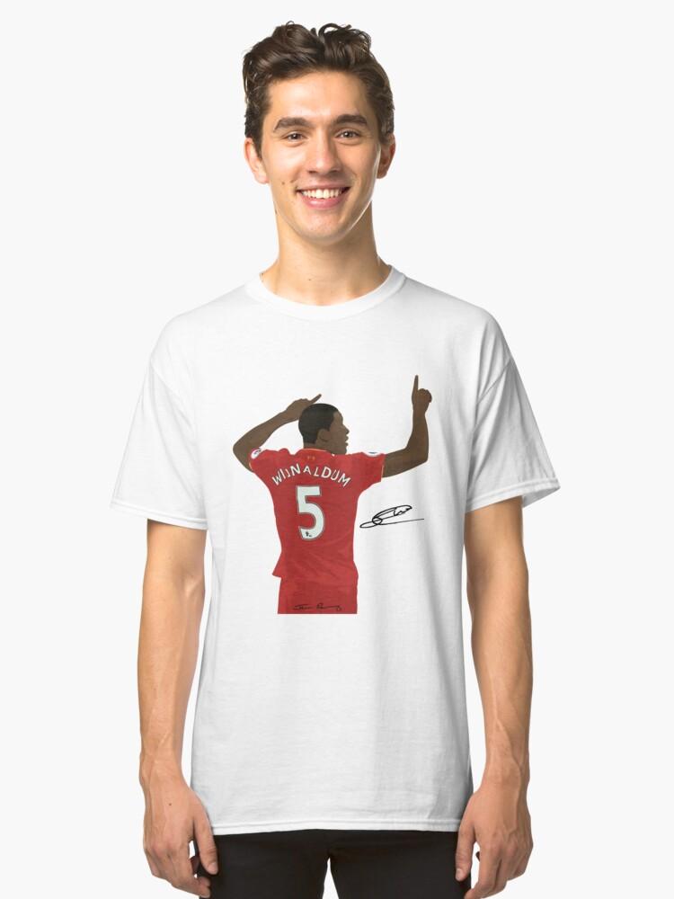 Georginio Wijnaldum Classic T-Shirt Front