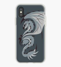 Reign of Heavens - Silver Rathalos iPhone Case
