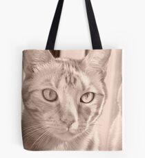 Garrus in Sepia Tote Bag