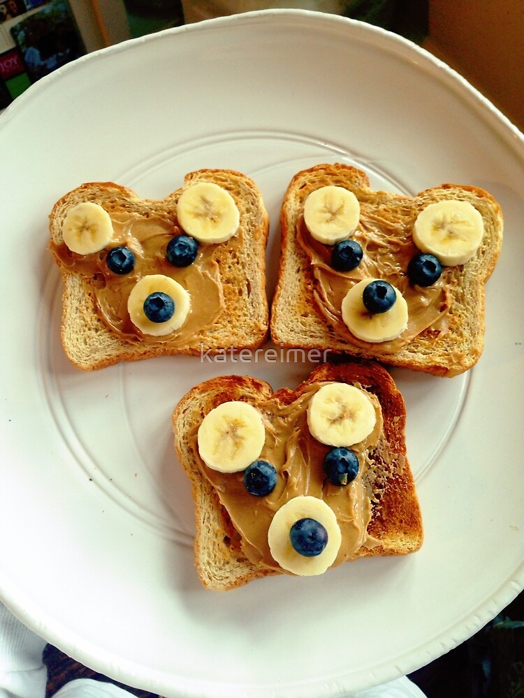 Bear Toast by katereimer