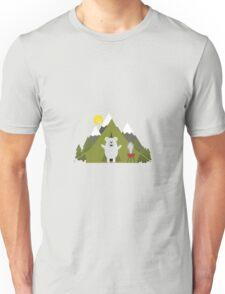 Polar Bear Camping Unisex T-Shirt