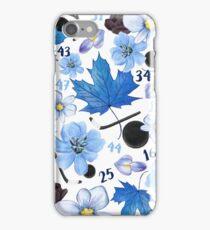 Floral Toronto Maple Leafs Design iPhone Case/Skin