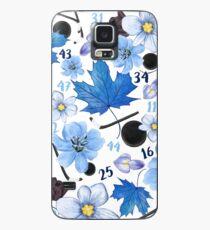 Floral Toronto Maple Leafs Design Case/Skin for Samsung Galaxy