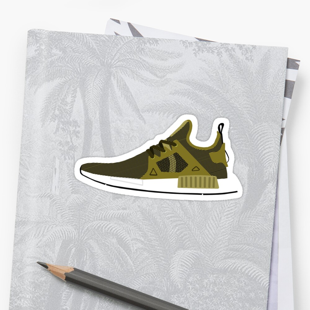 NMD XR1 Olive by ham523