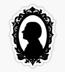 John Watson Silhouette  Sticker