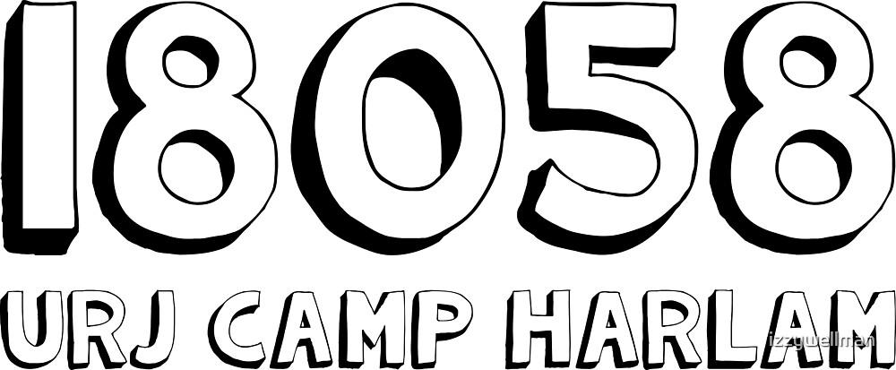 Camp Harlam Zipcode by izzywellman