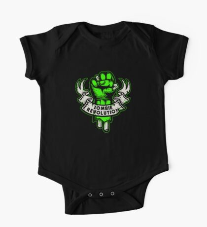 Zombie Revolution! -green- Kids Clothes
