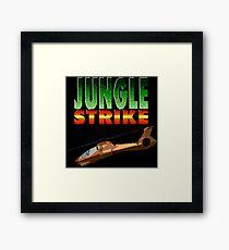 Jungle Strike (Genesis Title Screen) Framed Print