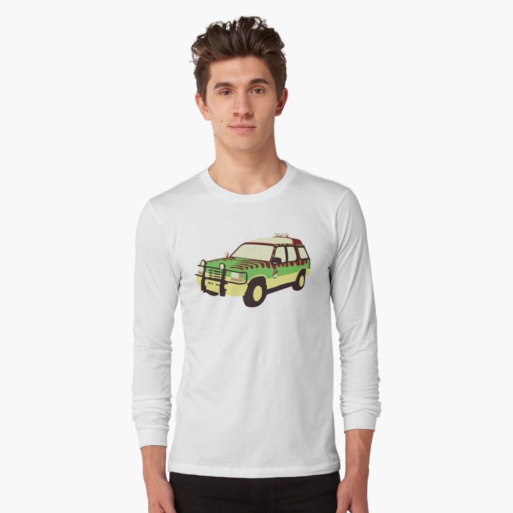 Jurassic Park Ford Long Sleeve T-Shirt
