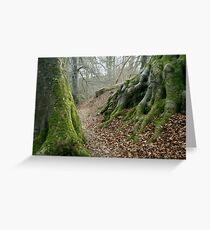 PATH TO THE FAIRY CAVE Greeting Card