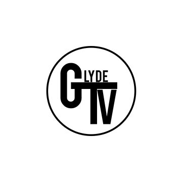 Black GlydeTV Logo by GlydeTV