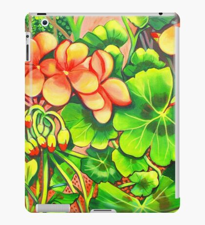 Geraniums iPad Case/Skin