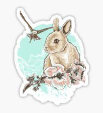 Run Rabbit Run Sticker