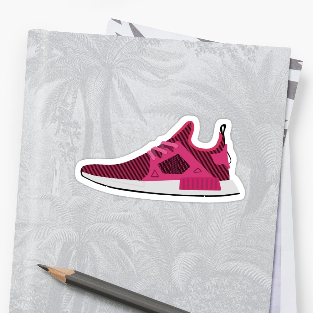 NMD XR1 Pink by ham523