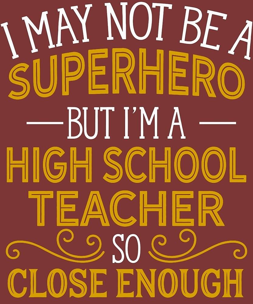 Superhero But High School Teacher by AlwaysAwesome
