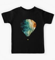Watercolor Stars, Galaxy and Air Balloons Kids Clothes
