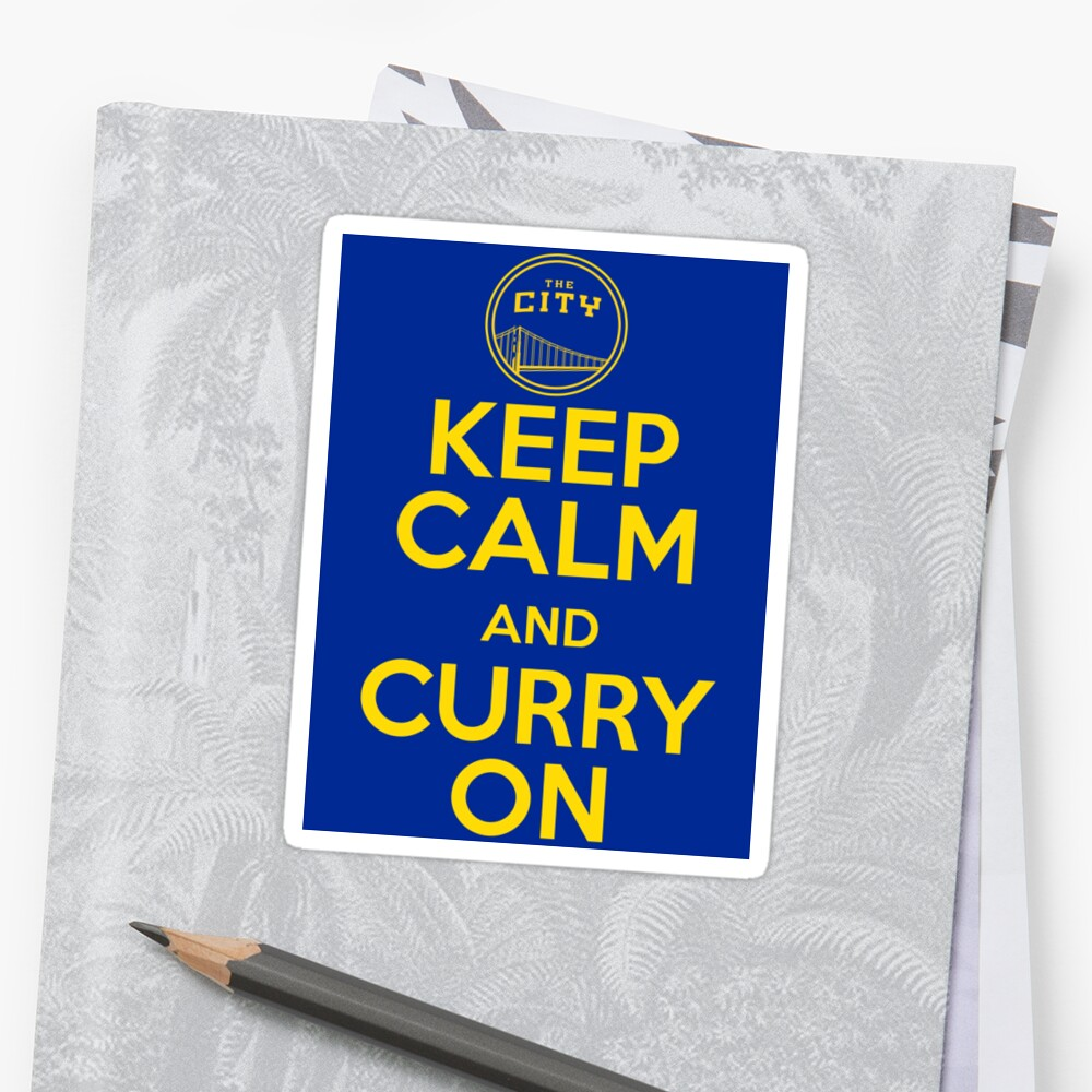 Keep Calm and Curry On by The Real Jonny D