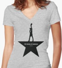 Book Of Mormon- An American Musical Women's Fitted V-Neck T-Shirt