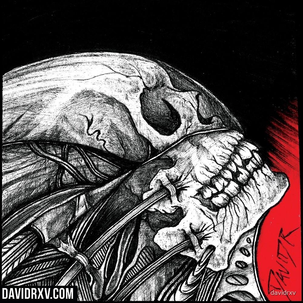 Rising Skull by davidrxv