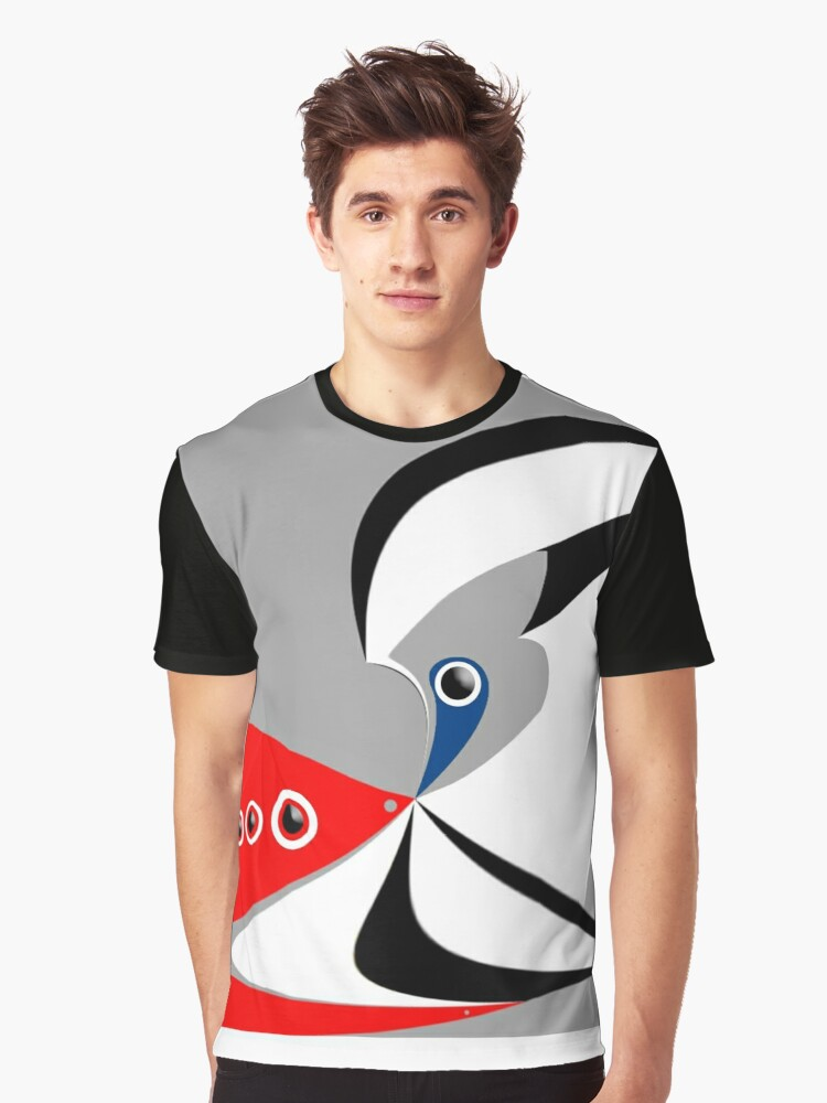 """""""No problems, right?"""" Graphic T-Shirt Front"""