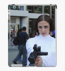 princess leia carry fisher iPad Case/Skin