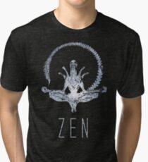 Alien Zen Tri-blend T-Shirt