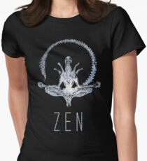 Alien Zen Women's Fitted T-Shirt