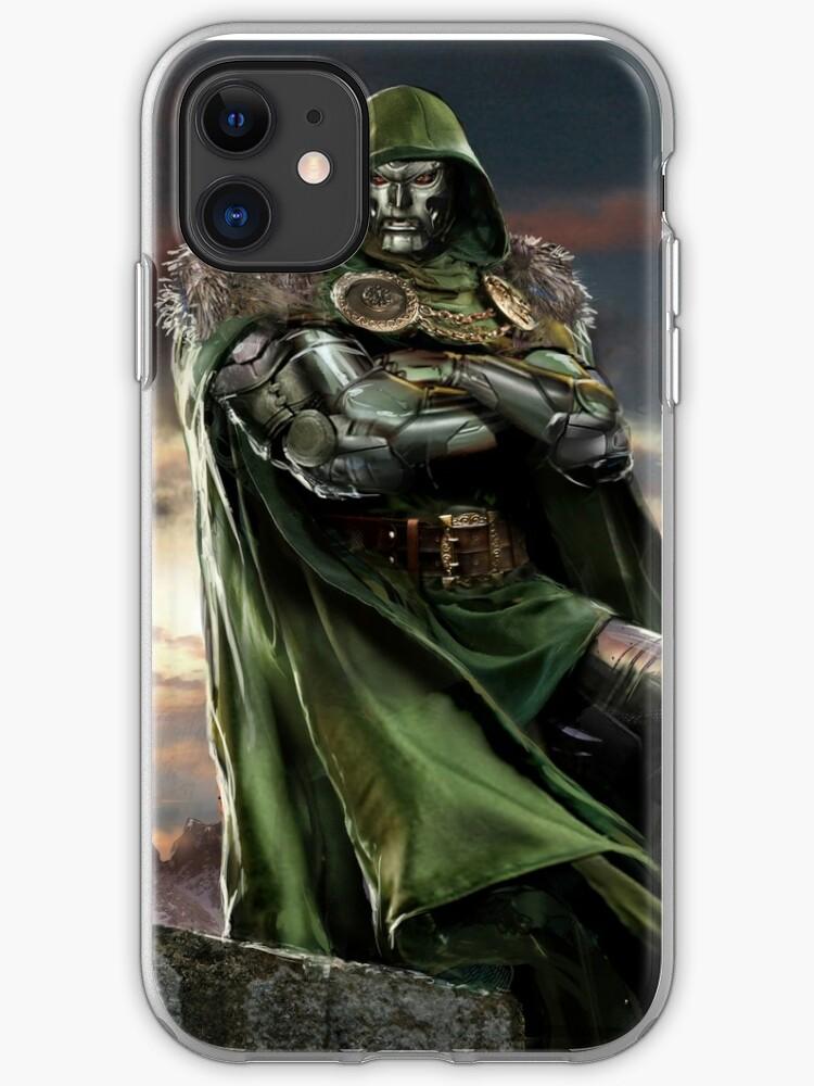 Dr Doom iphone case