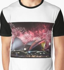 Sydney Opera House up in Lights Graphic T-Shirt