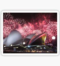 Sydney Opera House up in Lights Sticker