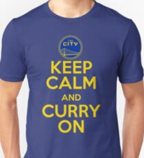 Keep Calm and Curry On Unisex T-Shirt