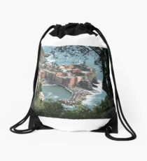 Vernazza, La Cinque Terre Drawstring Bag