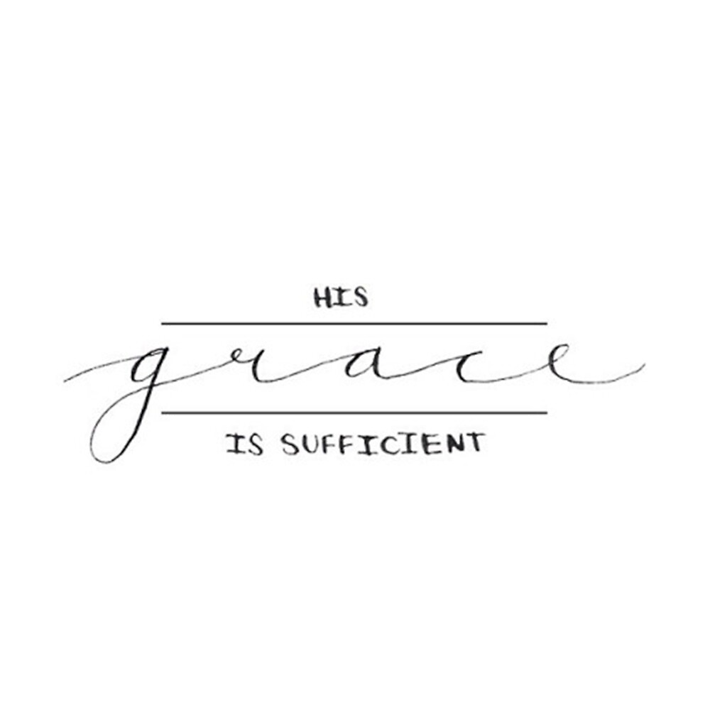His Grace is Sufficient by wtvrcait