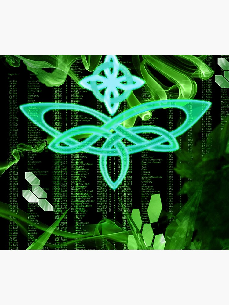 Celtic butterfly by coldfoxfusion