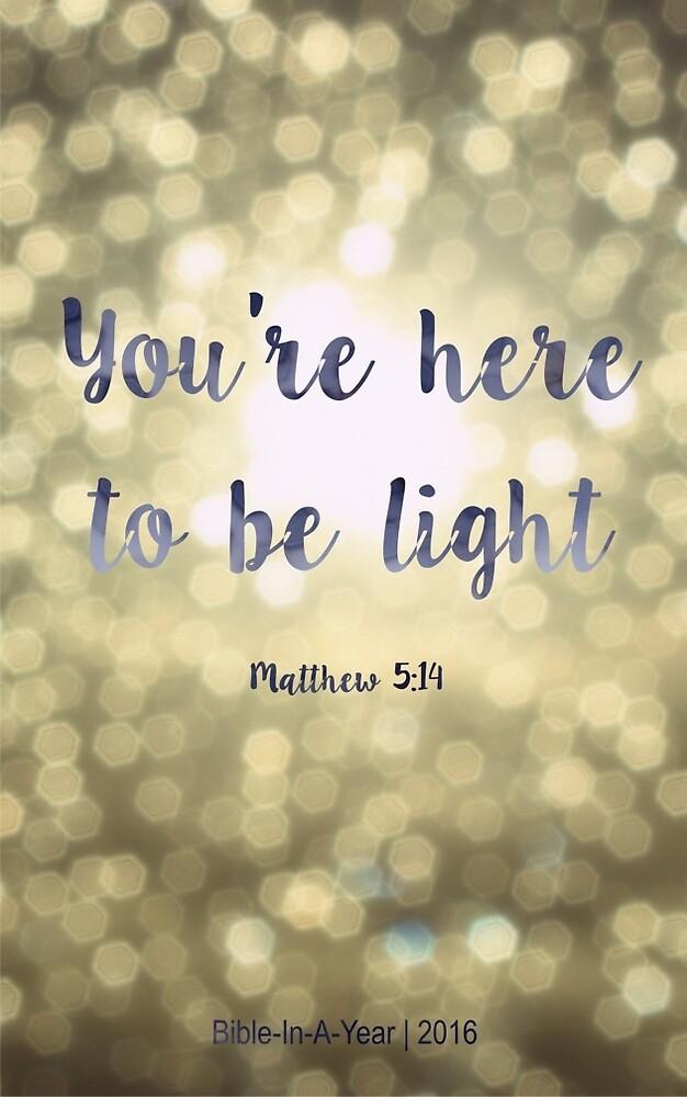 Matthew 5:19 by wtvrcait