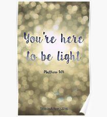 Matthew 5:19 Poster