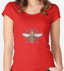 Manchester Bee Women's Fitted Scoop T-Shirt