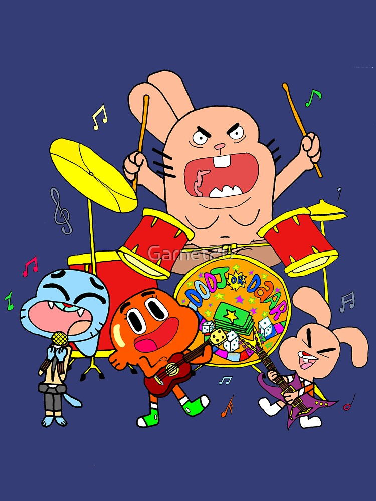 The Band (The Amazing World Of Gumball) by Garnet26