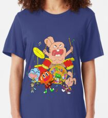 The Band (The Amazing World Of Gumball) Slim Fit T-Shirt
