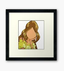 Flora - Casual Outfit - Season 1+2 Inspired Framed Print