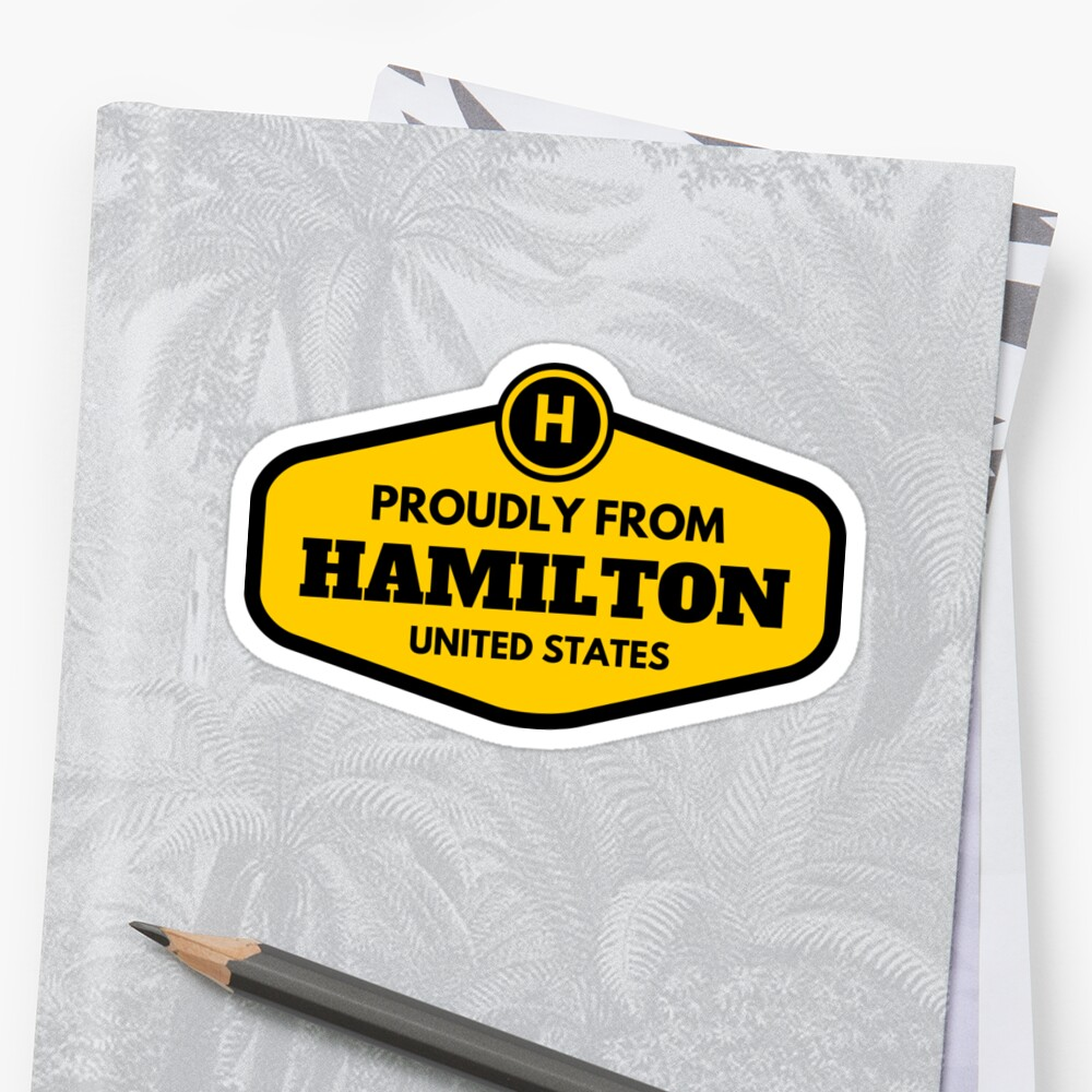 Proudly From Hamilton United States by flylikeakiwinz