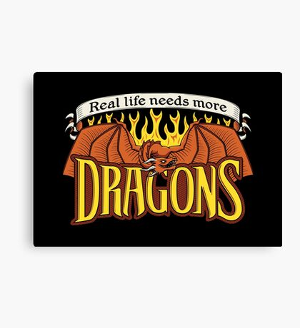 More Dragons Canvas Print