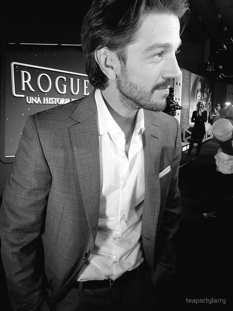 diego luna - rogue one by teapartylarry