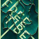 Free Tibet by Joen Asmussen