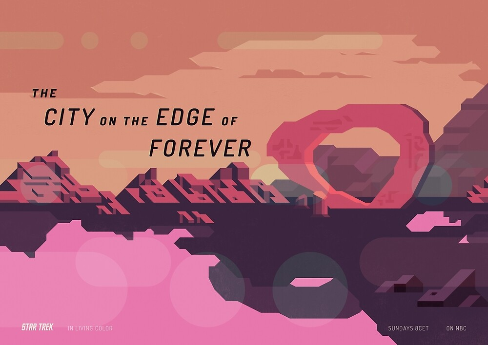 The City on the Edge of Forever by Joen Asmussen